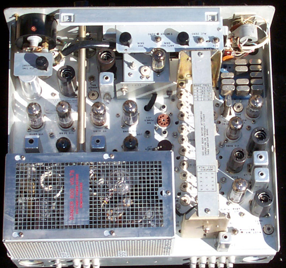 Top Inside of KWM-2 Transceiver (1963)