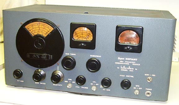 Front of the SX-25 Receiver