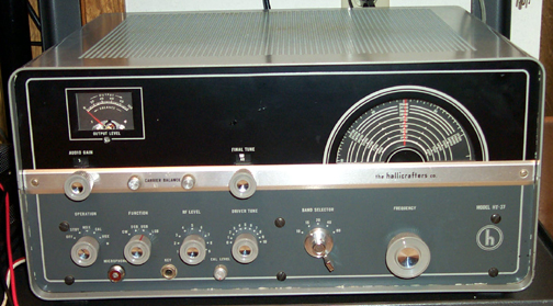 Front of HT-37 Transmitter