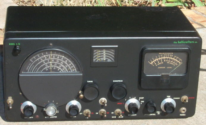 Hallicrafters S-76 Receiver on